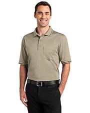 Cornerstone CS415 Men Select Snag-Proof Tipped Pocket Polo at GotApparel
