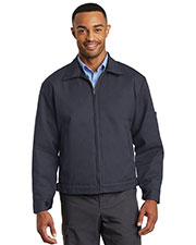 Red Kap CSJT22 Men Slash Pocket Jacket at GotApparel