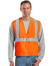 Cornerstone CSV400 Men Ansi 107 Class 2 Safety Vest at GotApparel
