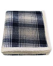 Pro Towels CTP5060 Cottage Plaid Throw Kanata Blanket at GotApparel