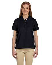 Devon & Jones Sport D112W Women  Pima Pique Short-Sleeve Polo at GotApparel