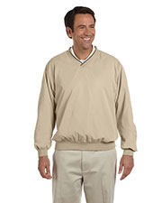 Devon & Jones Classic D950 Men Windcheater Wind Shirt at GotApparel