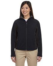 Devon & Jones Classic D997W Women Soft Shell Colorblock Jacket at GotApparel