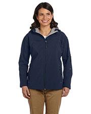 Devon & Jones Classic D998W Women Soft Shellhooded Jacket at GotApparel