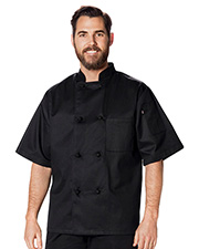 Dickies Chef DC48 Unisex Classic Knot Button Chef Coat at GotApparel