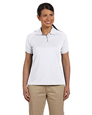 Devon & Jones Sport DG375W Women Dri Fast Mesh Polo at GotApparel