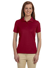 Devon & Jones Blue DG385W Women Dri Fast Advantage Solid Mesh Polo at GotApparel