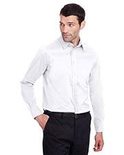 Devon & Jones DG560 Men Crown Collection Stretch Broadcloth Slim Fit Shirt at GotApparel