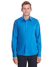 Devon & Jones DG561 Men Crown Collection Stretch Broadcloth Untucked Shirt at GotApparel