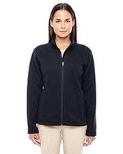 Devon & Jones Classic DG793W Women Bristol Full-Zip Sweater Fleece Jacket at GotApparel