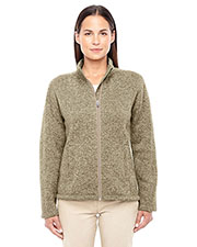 Devon & Jones Classic DG793W Women Bristol Full-Zip Sweater Fleece Jacket at GotApparel