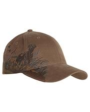 Dri Duck DI3253 Labrador Structured Mid-Profile Hat at GotApparel