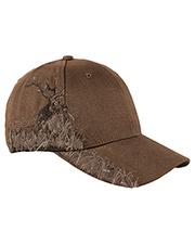 Dri Duck DI3259 Brushed Cotton Twill Elk Cap at GotApparel