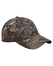 Dri Duck DI3282 Deer Mule Camo Structured Mid-Profile Hat at GotApparel