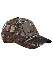 Dri Duck DI3301 Running Buck Structured Mid-Profile Hat at GotApparel