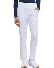 Dickies Medical DK005P Women Natural Rise Tapered Leg Pull-On Pant at GotApparel