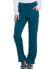 Dickies Medical DK010T Women Mid Rise Straight Leg Drawstring Pant at GotApparel