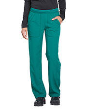 Dickies Medical DK120P Women Mid Rise Straight Leg Pull-on Pant at GotApparel