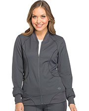 Dickies Medical DK330 Women Zip Front Warm-up Jacket at GotApparel