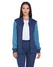 Dickies Medical DK340 Women Zip Front Warm-up Jacket at GotApparel