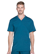 Dickies Medical DK640 Men V-Neck Top at GotApparel