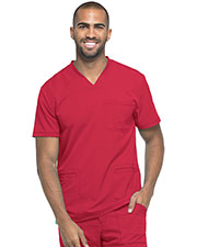 Dickies Medical DK640 Men V-Neck Top at GotApparel