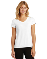 District Made DM1350L Women Perfect Tri & V-Neck Tee at GotApparel