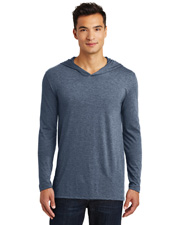 District Made DM139 Men   Perfect Tri  Long-Sleeve Hoodie at GotApparel