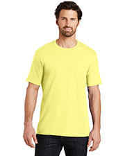 District Made DT104 Men Perfect Weight Crew Tee at GotApparel