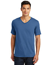 District Made DT1170 Men Perfect Weight V-Neck Tee at GotApparel