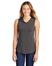 District DT1375 Women Perfect Tri ® Sleeveless Hoodie at GotApparel