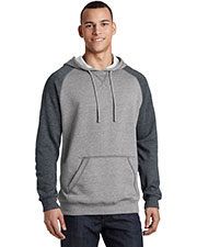 District DT196 Adult Lightweight Fleece Raglan Hoodie at GotApparel