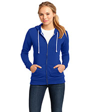 District DT290 Women Core Fleece Full-Zip Hoodie at GotApparel