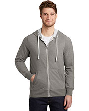District DT356 Men 8.3 oz French Terry Full-Zip Hoodie at GotApparel