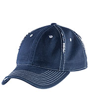 District DT612 Men Rip and Distressed Cap at GotApparel