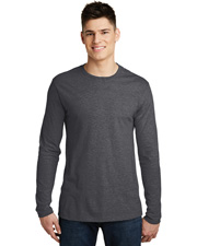District Young DM391 Men Very Important Tee Long Sleeve at GotApparel