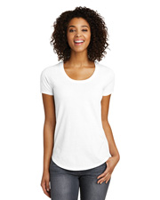 District Juniors DT6401 Women Scoop Neck Very Important Tee at GotApparel