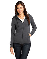 District DT801 Women The Concert Fleece  Full-Zip Hoodie at GotApparel