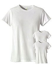 Custom Embroidered Econscious EC3000 Women 4.4 Oz. 100% Organic Cotton Classic Short-Sleeve T-Shirt 3-Pack at GotApparel