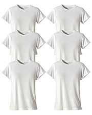 Custom Embroidered Econscious EC3000 Women 4.4 Oz. 100% Organic Cotton Classic Short-Sleeve T-Shirt 6-Pack at GotApparel