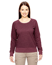 Custom Embroidered Econscious EC4505 Women 7 Oz. Organic/Recycled Heathered Fleece Raglan Pullover at GotApparel
