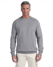 Custom Embroidered Econscious EC5050 Adult 7 Oz. Organic/Recycled Heathered Fleece Raglan Crew at GotApparel