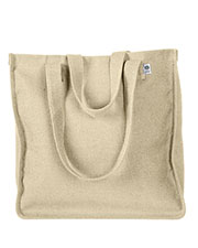 Custom Embroidered Econscious EC8015 Women Hemp Market Tote at GotApparel