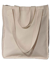 Custom Embroidered Econscious EC8040 Women 9 Oz. Organic Cotton Canvas Market Tote at GotApparel