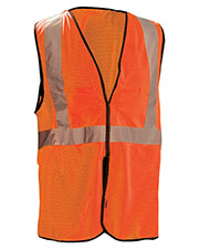 OccuNomix ECOGCBL Men Value Mesh Five-Point Breakaway Vest, Class 2 at GotApparel