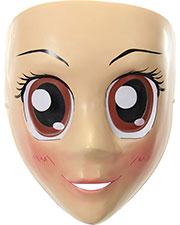 Halloween Costumes EL444379 Unisex Anime Mask Brown Eyes at GotApparel