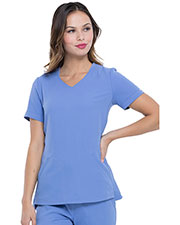 EL604 V-Neck Top at GotApparel