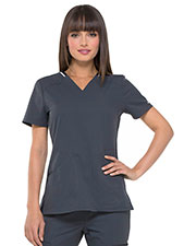 Elle EL650 Women V-Neck Top at GotApparel