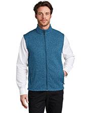 Port Authority F236 Men Sweater Fleece Vest at GotApparel