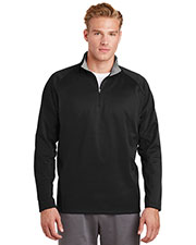 Sport-Tek® F243 Men Sportwick 1/4-Zip Fleece Pullover at GotApparel